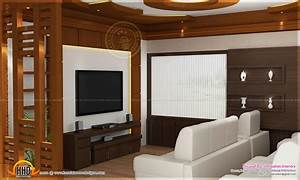 house interior design kannur kerala home kerala plans With interior design for living room in kerala