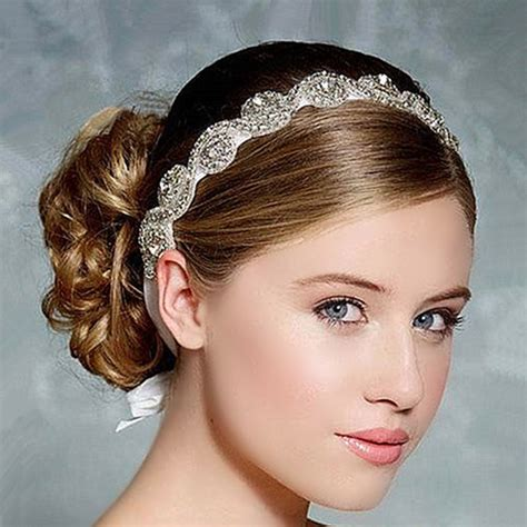 wedding headband hair band headband wedding bridal hair accessories headpieces headwear - Diy Bridal Hair Band