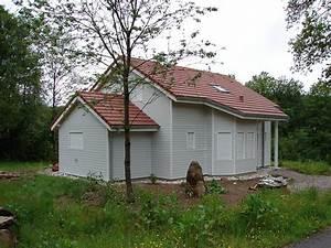 Maison classique ossature bois ATELIER CONSTRUCTION