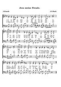 Jesu, meine Freude, BWV 227 (Bach, Johann Sebastian