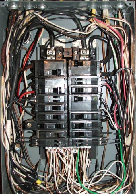 Split Bus Electrical Panels Main Breaker Charles