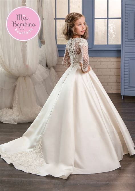 Flower Girl Dresses New York Girls Dress for Wedding by MB Boutique Canada