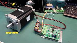 Nema 34 12nm - 1700 Oz-in Stepper Motor Test With Mst-107
