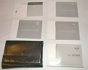 2007 Nissan Altima Owners Manual Guide Book Set With Case