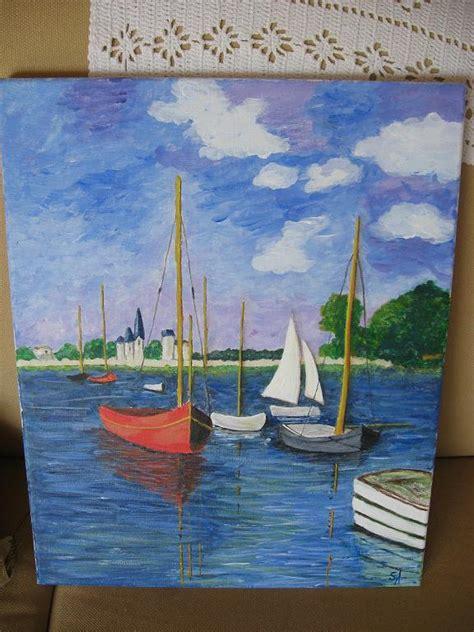 comment peindre une toile a l acrylique toile 224 l acrylique