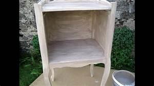 Repeindre Un Meuble En Bois Vernis : comment patiner un meuble en bois vernis ~ Melissatoandfro.com Idées de Décoration