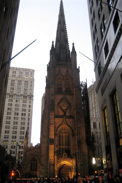 nyc fidi trinity church trinity church prominently loc flickr