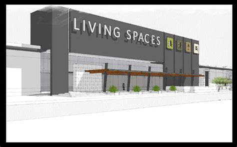 ground breaks   retailer living spaces location