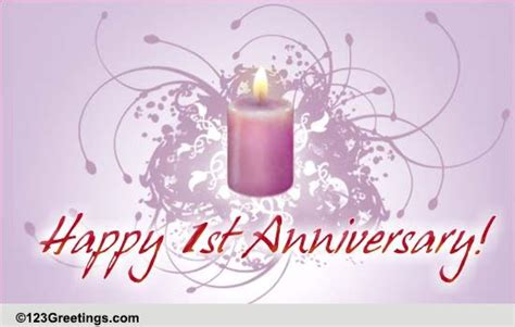 st wedding anniversary  milestones ecards greeting cards