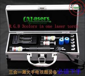OXLasers RGB301 1000MW blue+200mw red+100mw green 3 in 1