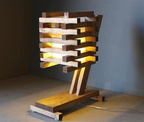 inventive ideas  wood pallet lamps id lights