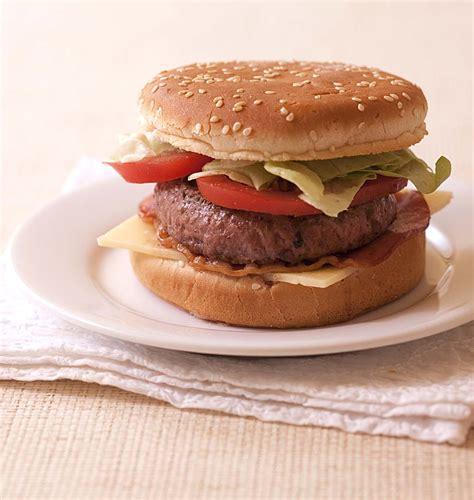 jeux de cuisine hamburger hamburgers au boeuf et bacon les meilleures recettes de