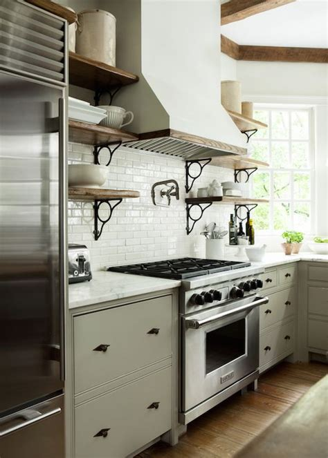rustic grey kitchen cabinets amazing kitchen features gray base cabinets topped with 4977