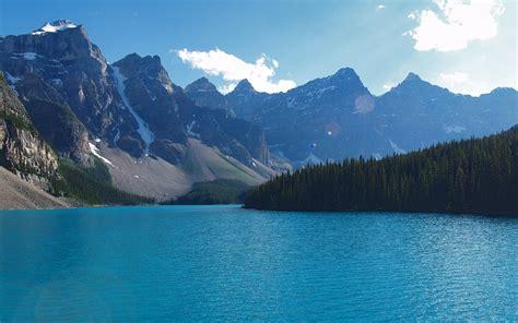 Moraine Lake Alberta Banff Wallpapers Moraine Lake
