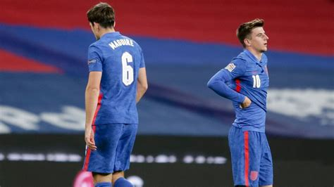Maguire exits early as England lose to Denmark - Edsportin