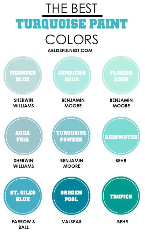 best 25 turquoise paint colors ideas on teal