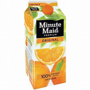 Wake up to a refreshing glass of orange juice from Minute ...