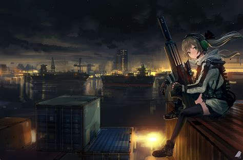 Soldier Anime Wallpaper - anime sniper wallpaper 62 images
