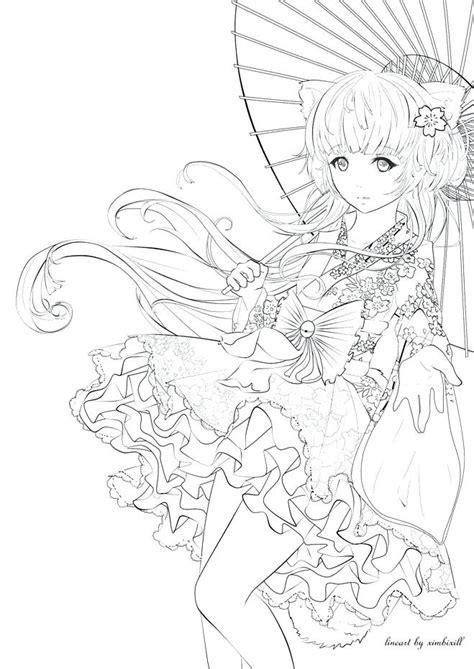 anime coloring coloring pages anime princess disney sweet sardinia
