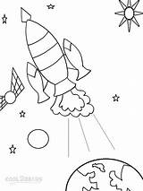 Coloring Pages Spaceship Space Drawing Printable Cool2bkids Getdrawings Sheets sketch template