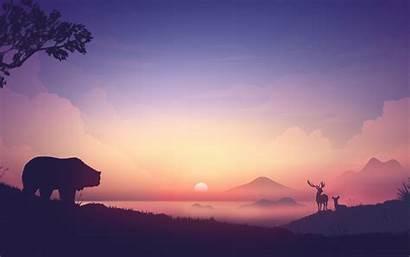 4k 8k Sunrise Calm Mountains Wallpapers Evening