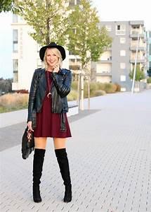 Chic Und Mit : outfit rock chic mit overknees lavie deboite ~ Orissabook.com Haus und Dekorationen