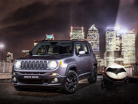 jeep batman jeep renegade batman vs superman limited edition
