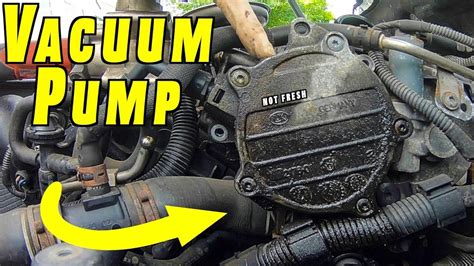 replace  reseal brake vacuum pump youtube