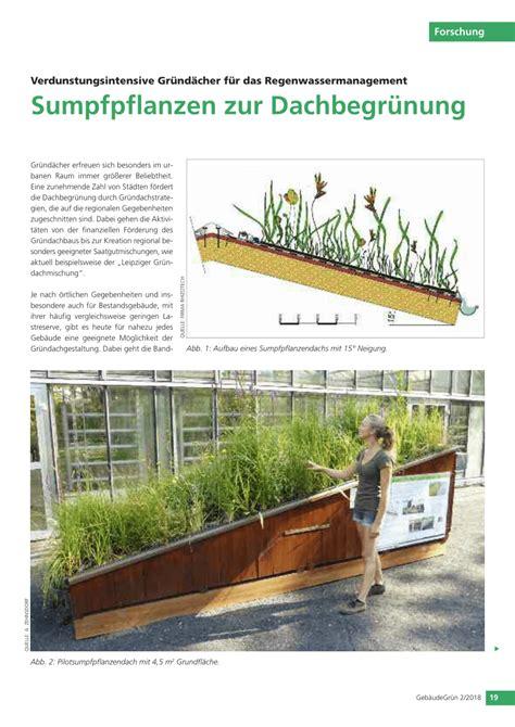 Dachbegruenung Oase Im Asphalt Dschungel by Oberste Dachbegr 252 Nung Aufbau Vorstellung Wpme