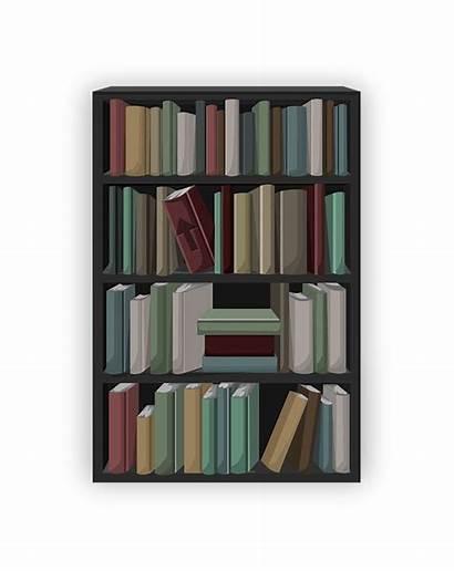 Bookcase Shelf Books Shelving Bookshelf Shelves Vector