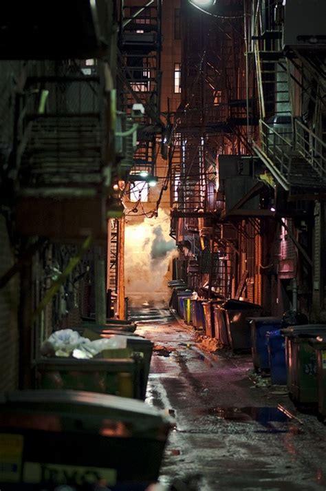 alley     art cyberpunk art
