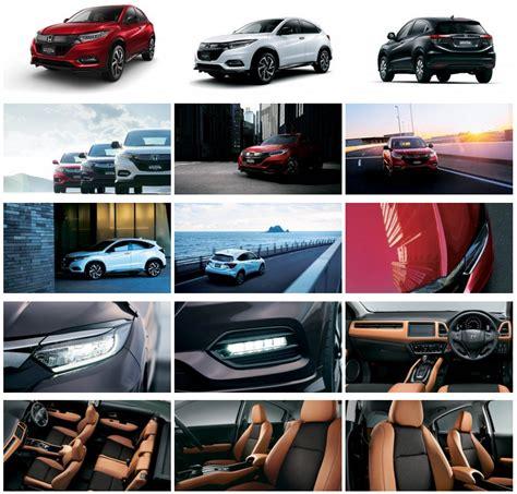 honda vezel relaunches  japan   mild facelift car