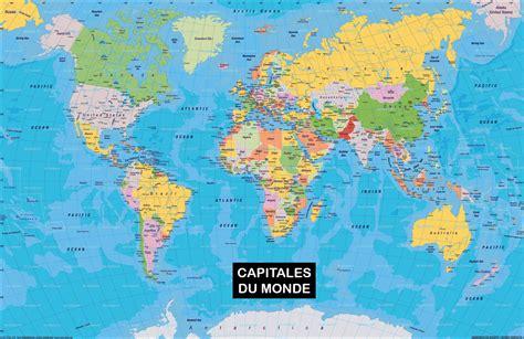Carte Europe Avec Capitales 2016 by Carte Du Monde Europe 2016 Voyages Cartes