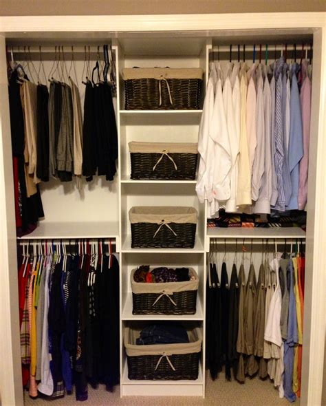 Do It Yourself Closet Organization Ideas by White Simple Closet Organizer Diy Projects