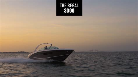 Regal Boats Brochure by 3300 Regal Boats Overview