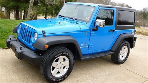 Light Blue Jeep Wrangler 2 Door Www Pixshark Com