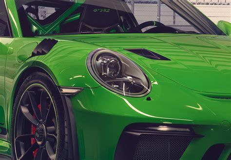 Porsche Gt3 Rs Green by Green Porsche 911 Gt3 Rs 13 Photo
