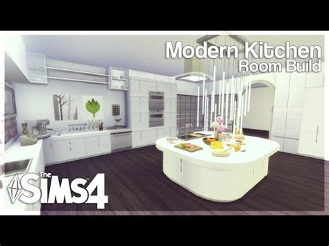 sims  room build modern kitchen youtube