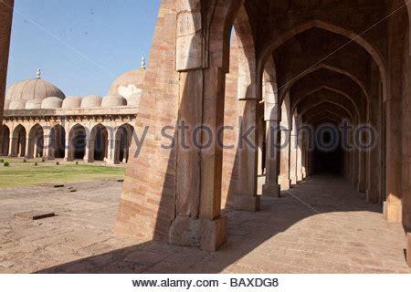 india madhya pradesh mandu  friday mosque stock