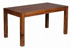 Tischplatte 140 X 80 : finebuy design esstisch massiv 140 x 80 x 76 cm sheesham massivholz esszimmerst ~ Bigdaddyawards.com Haus und Dekorationen