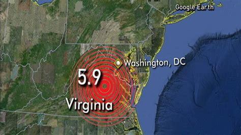Magnitude 5.8 Earthquake Hits Central Virginia