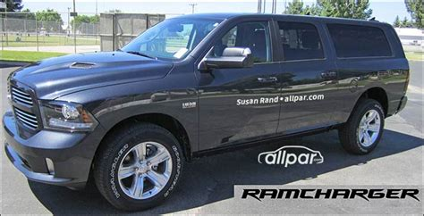 Dodge Size Suv 2020 by 2020 Ram Ramcharger Rumors Price Release Date Rendered