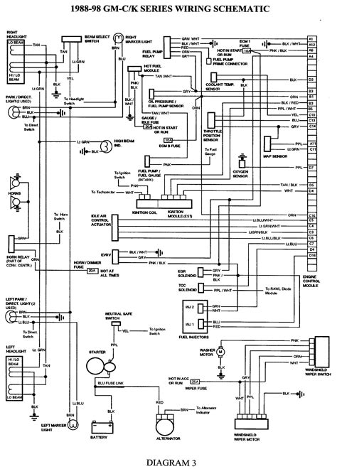 1986 S10 Wiring Diagram by 1986 Chevrolet C10 5 7 V8 Engine Wiring Diagram