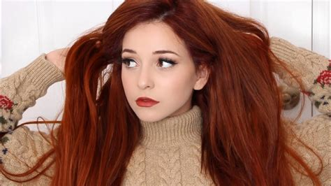 Makeup Tips For Dark Red Hair Mugeek Vidalondon