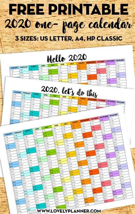 printable   page calendar rainbow lovely