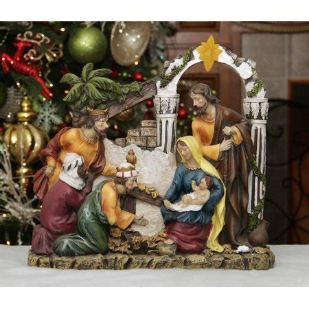 3 piece holy family christmas outdoor set 14 5 quot inspirational religious holy family and