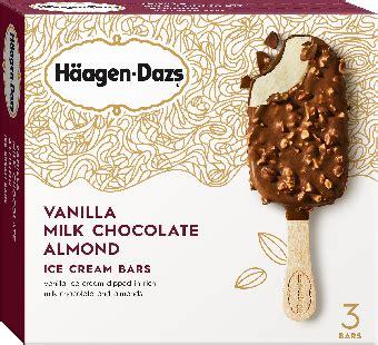 haeagen dazs oz retail pack bars delta ice cream