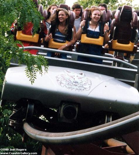 Stand-up coaster