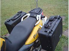 BMW F650GSDAKAR Caribou 35 Liter Pelican Side Luggage