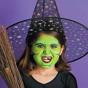 Maquillage Simple Enfant : maquillage halloween sorciere petite fille simple ~ Melissatoandfro.com Idées de Décoration